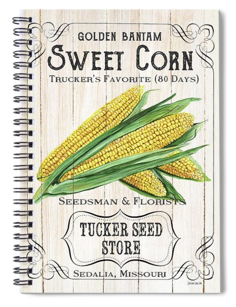 Organic Seed Packet 4 Spiral Notebook