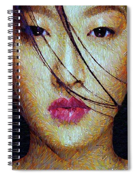 Oriental Expression 0701 Spiral Notebook