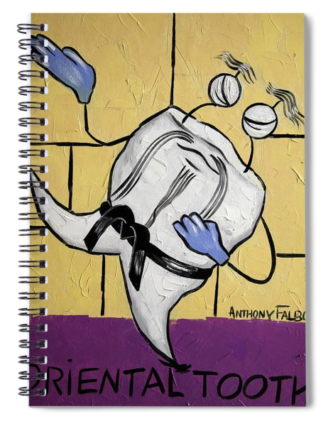 Oriental Tooth Spiral Notebook