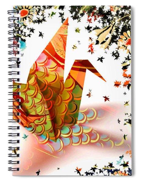 Origami 2017 Spiral Notebook