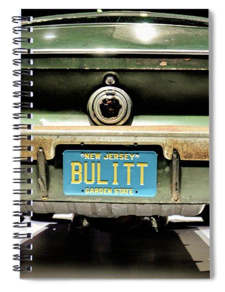 Original Bulitt Mustang Spiral Notebook