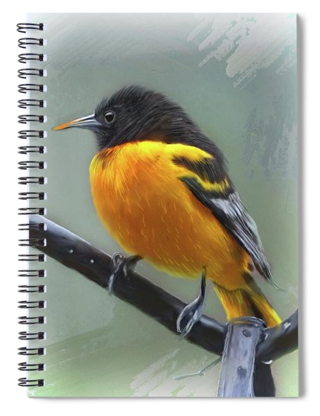 Oriole Spiral Notebook