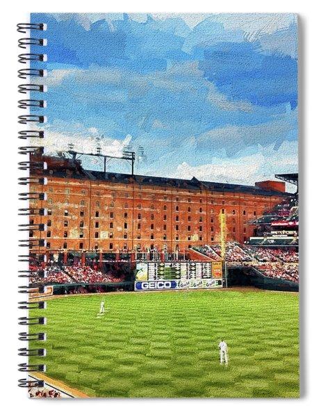 Orioles Stadiun Spiral Notebook