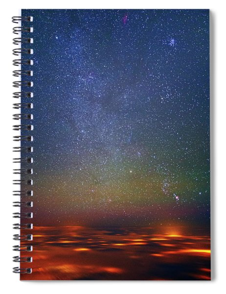 Orion Rising Spiral Notebook