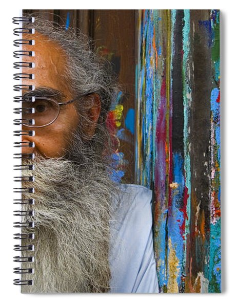 Spiral Notebook featuring the photograph Orizaba Painter by Skip Hunt