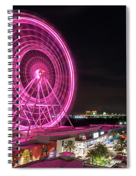 Orlando Eye Spiral Notebook