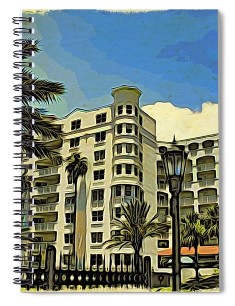 Ormond Heritage Clouds On Top Spiral Notebook