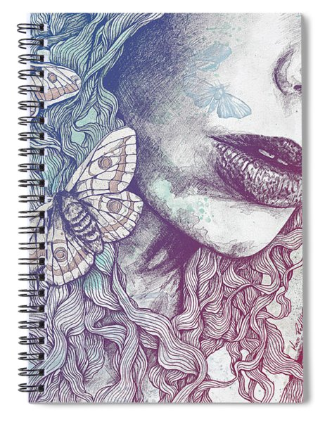 Ornaments - Rainbow Spiral Notebook