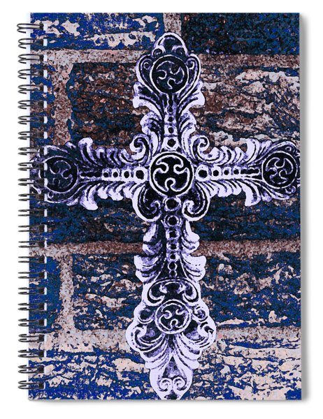 Ornate Cross 2 Spiral Notebook