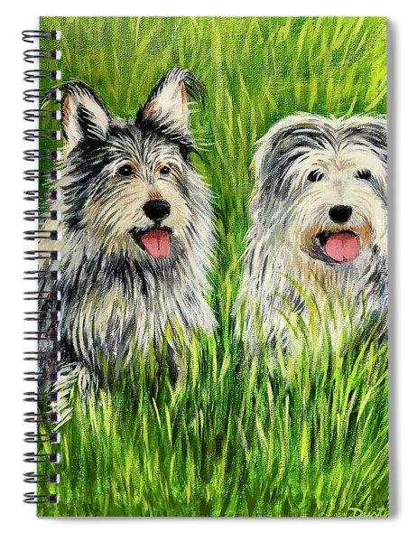 Oskar And Reggie Spiral Notebook