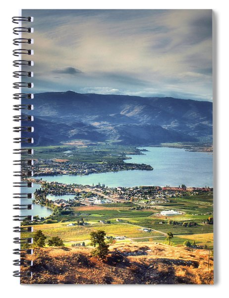 Osoyoos Lake 2 Spiral Notebook