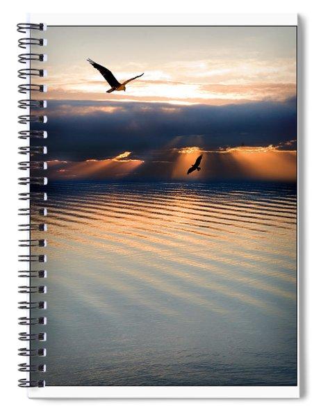 Ospreys Spiral Notebook