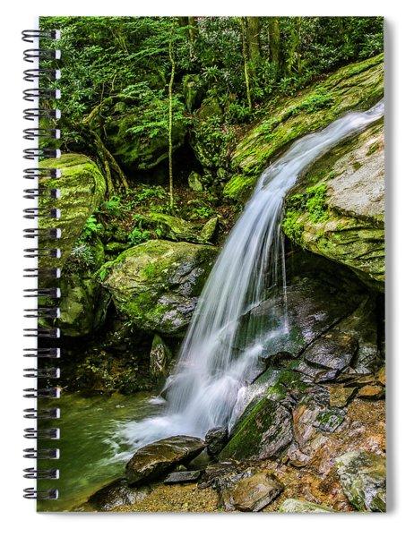 Otter Falls Spiral Notebook