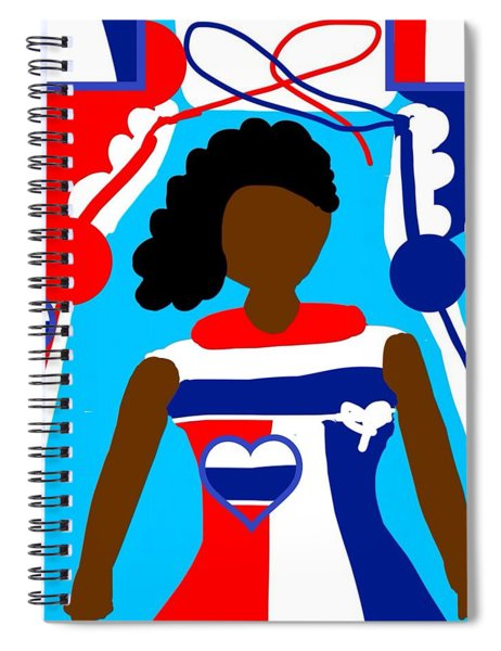 Our Flag Of Freedom  Spiral Notebook