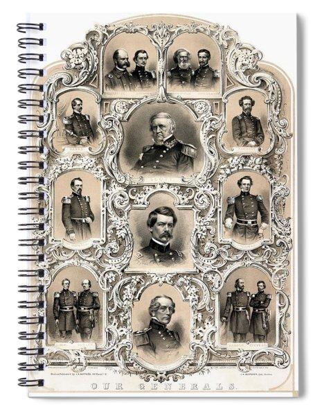 Our Generals -- Union Civil War Spiral Notebook