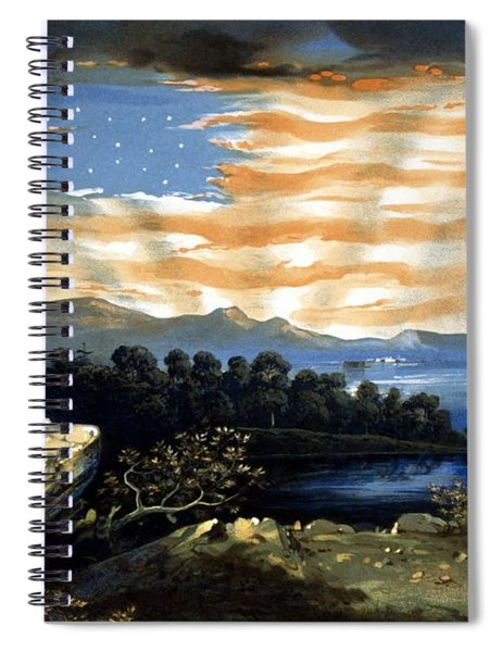 Our Heaven Born Banner Spiral Notebook