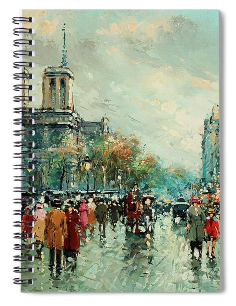 Notre-dame De Paris Spiral Notebook