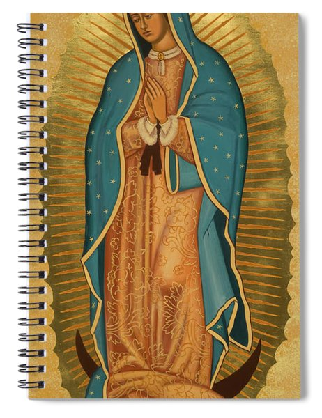 Our Lady Of Guadalupe - Jcoga Spiral Notebook
