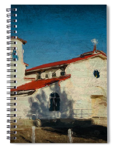 Our Lady Of La Salette Mission Paint Spiral Notebook