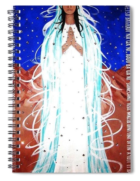Our Lady Of Lucid Dreams Spiral Notebook