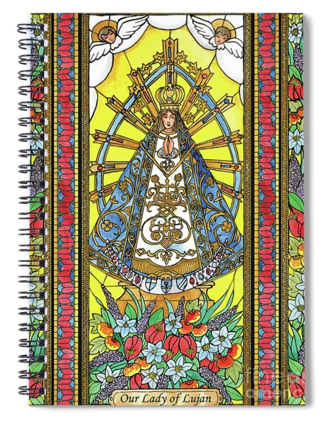 Our Lady Of Lujan Spiral Notebook