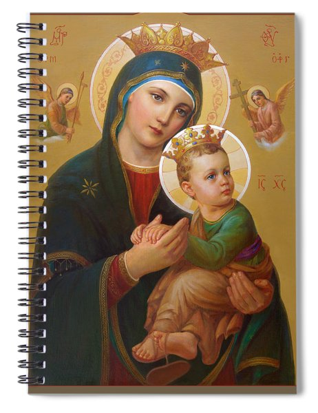 Our Lady Of Perpetual Help - Perpetuo Socorro Spiral Notebook