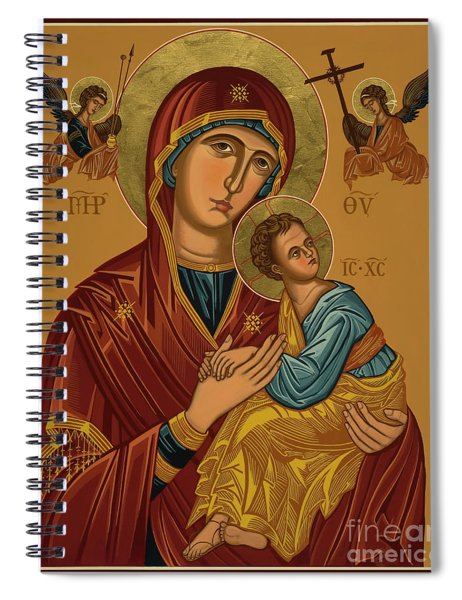 Our Lady Of Perpetual Help - Virgin Of Passion - Jcpph Spiral Notebook