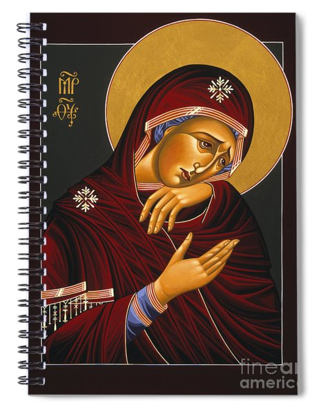 Our Lady Of Sorrows 028 Spiral Notebook