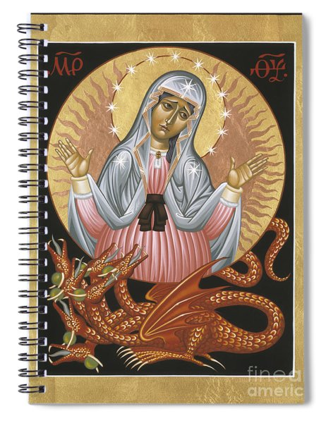 Our Lady Of The Apocalypse 011 Spiral Notebook