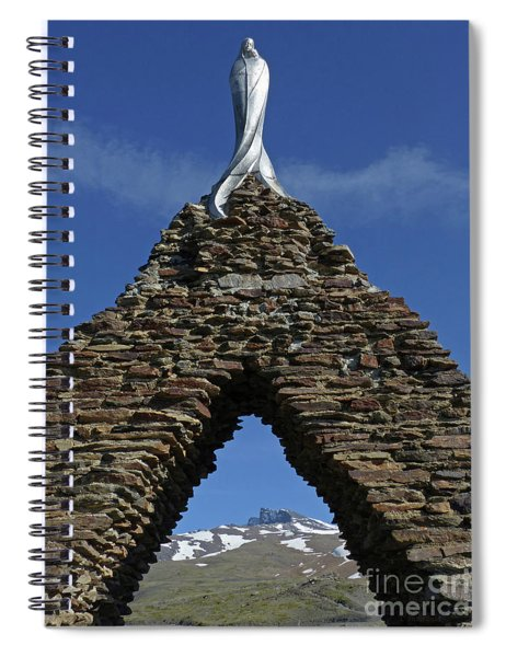 Our Lady Of The Snows - Sierra Nevada Spiral Notebook