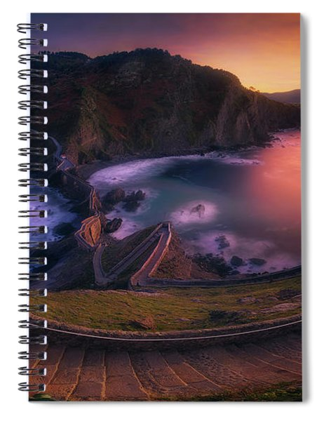 Our Small Wall Of China Spiral Notebook