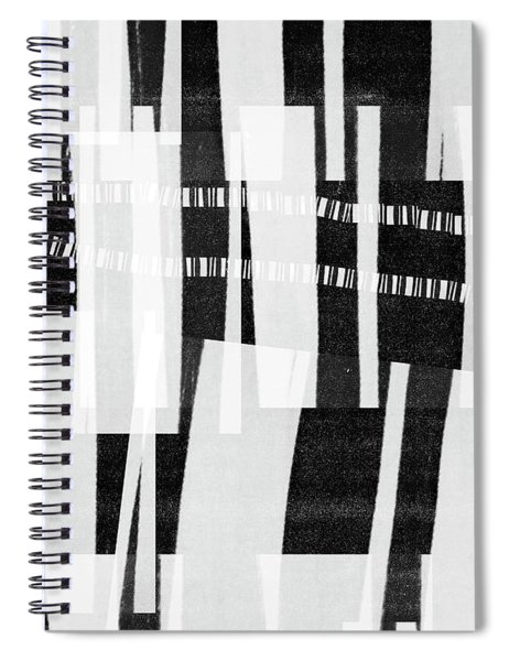 Out Of Bounds- Art By Linda Woods Spiral Notebook