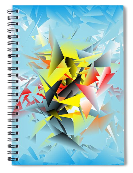 Out Of The Blue 5 Spiral Notebook