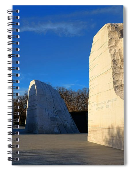 Out Of The Mountain Of Despair Spiral Notebook