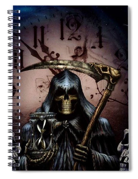 Out Of Time Spiral Notebook