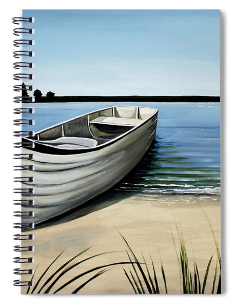 Out On The Water Spiral Notebook
