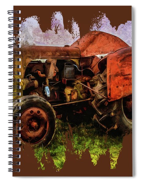 Put Out To Pasture Spiral Notebook