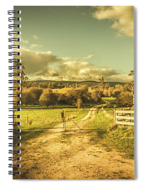 Outback Country Paddock Spiral Notebook