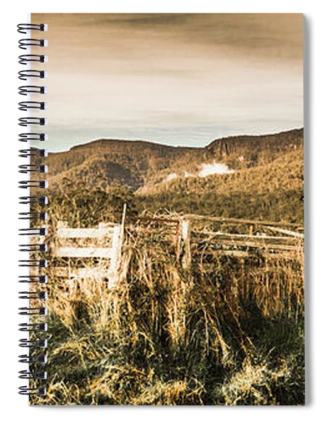 Outback Obsolescence  Spiral Notebook