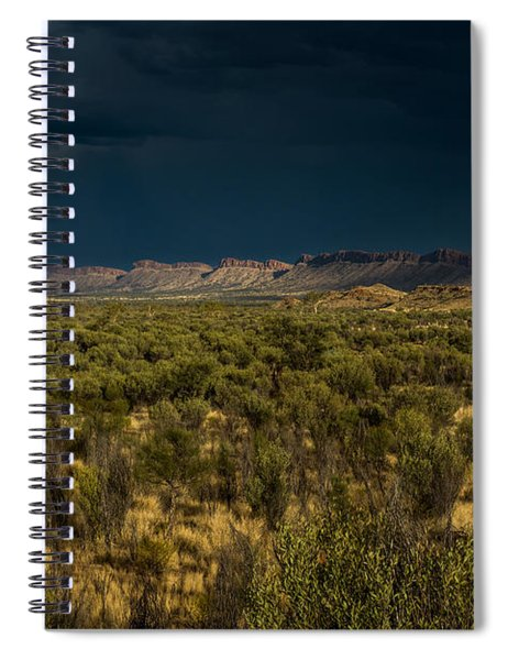 Outback Storm Spiral Notebook