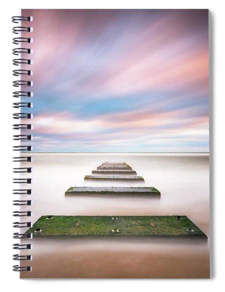 Outer Banks North Carolina Seascape Nags Head Nc Spiral Notebook