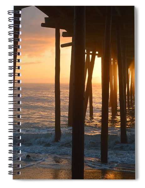 Outer Banks Pier 7/6/18 Spiral Notebook