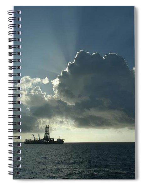 Outer Continental Shelf Oilfield  Spiral Notebook