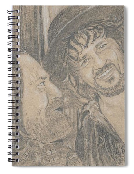 Outlaws Spiral Notebook