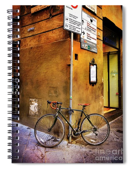 O'val Bicycle Spiral Notebook