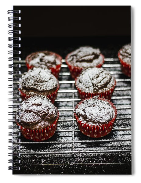 Oven Fresh Cupcakes Spiral Notebook