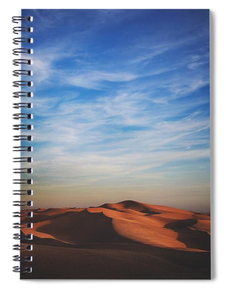 Over And Over Spiral Notebook