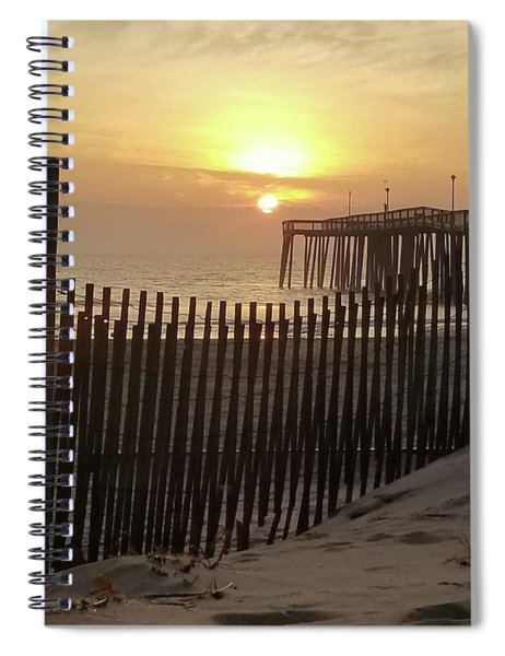 Over The Dune To Sunrise Spiral Notebook