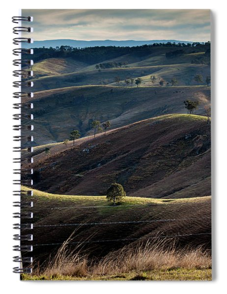 Over The Back Fence Spiral Notebook