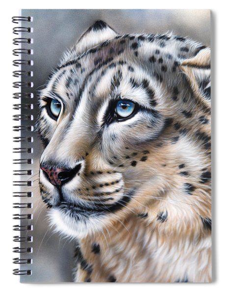 Over The Mountain Spiral Notebook